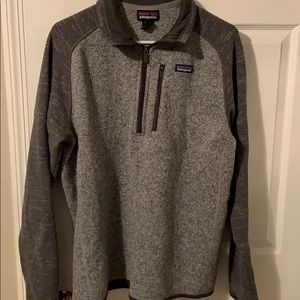 Patagonia half zip sweater